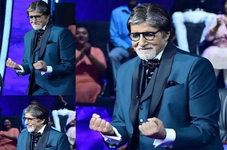 KBC13 के सेट पर अमिताभ बच्चन ने जमकर किया डांस, अभिनेता रणवीर सिंह ने दिया ऐसा रिएक्शन