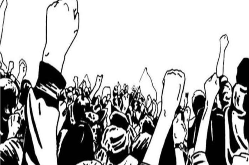 3 प्रमुख मांगों को लेकर गेस्ट लेक्चरर्स ने किया प्रदर्शन, सामूहिक मुंडन करवा कर जताया विरोध