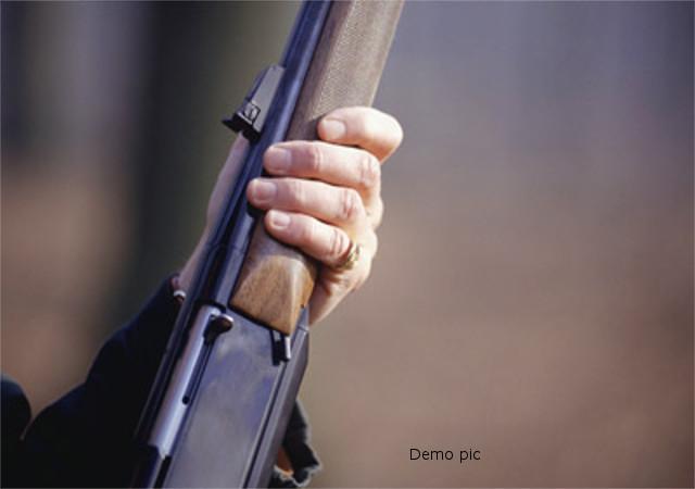 हर्ष फायरिंग के दौरान बच्ची को लगी गोली, परिजनों ने किया थाने का घेराव